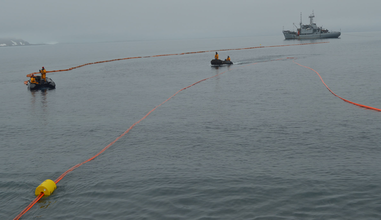 Oroflex 30 - fuel line in Antartica