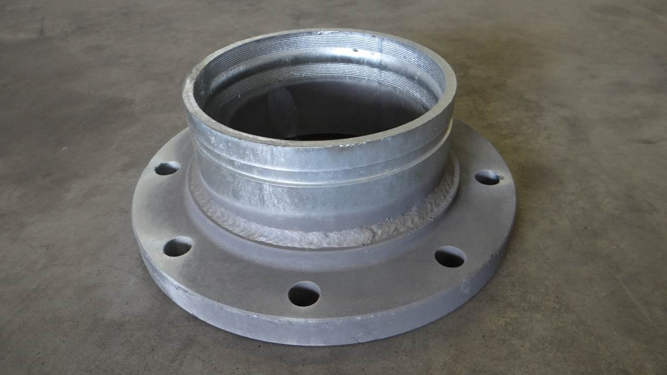 Flange - Groove adapter